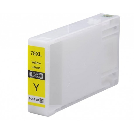 Tinta compatible Epson T7904, T7914 (79XL), color amarilllo