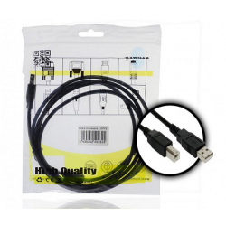 Cable USB a Impresora AM/BM 2m