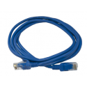 Cable de Red RJ45 Cat.6 latiguillo 1m