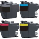 4 x Tinta compatible Brother LC3217, color BK, C, M, Y