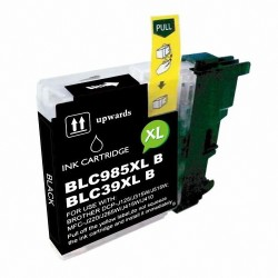 Cartucho de tinta compatible Brother LC985, color negro