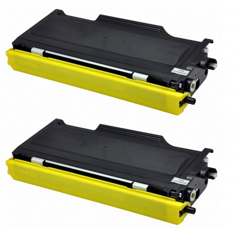 2 x tóner compatible Brother TN2000, TN2005, TN350, color negro