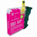 Cartucho de tinta compatible Brother LC980 XL, LC1100 XL , color magenta
