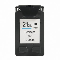 HP COMPATIBLE NEGRO Nº21 (3 CARGAS) 17 ML