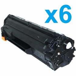 PACK HP CE285A negro 85A pack 6 Toner COMPATIBLE