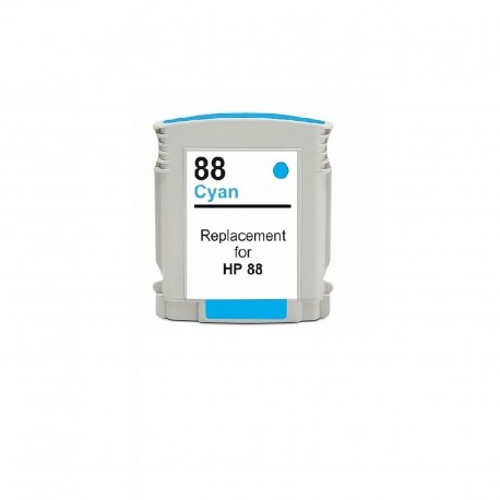 HP COMPATIBLE Nº 88 XL CYAN 35ML