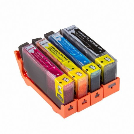 HP COMPATIBLE Nº 364  pack 4