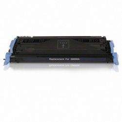 Tóner compatible HP Q6000A (124A), color negro