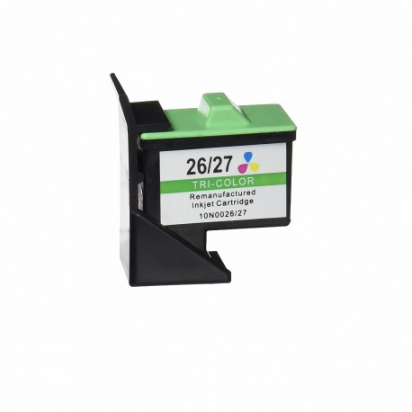 CARTUCHO LEXMARK COMPATIBLE Nº26 COLOR