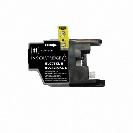 BROTHER CARTUCHO COMPATIBLE LC1240/LC1220/LC1280 NEGRO