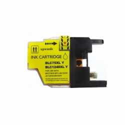 BROTHER CARTUCHO COMPATIBLE LC1240/LC1220/LC1280 AMARILLO