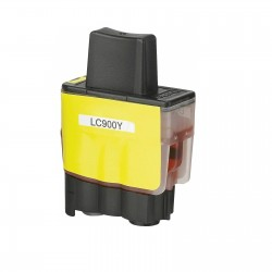 BROTHER CARTUCHO COMPATIBLE LC 900 AMARILLO B-900Y