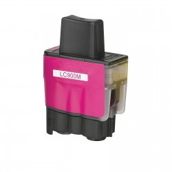 BROTHER CARTUCHO COMPATIBLE LC 900 MAGENTA B-900M