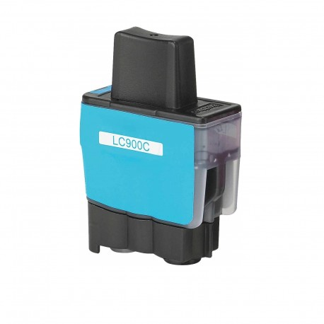 BROTHER CARTUCHO COMPATIBLE LC 900 CYAN B-900C