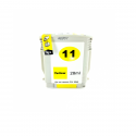Cartucho de tinta compatible HP 11, color amarillo