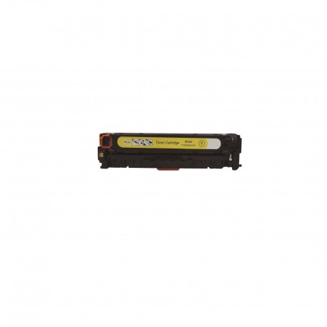 Tóner compatible HP CC532A, CE412A, CF382A color amarillo