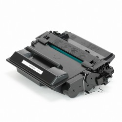 Tóner compatible HP CE255X (55X), color negro