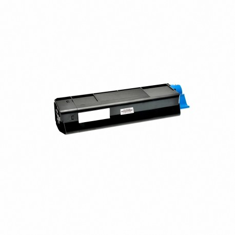 Tóner compatible OKI C5600, C5700, color negro