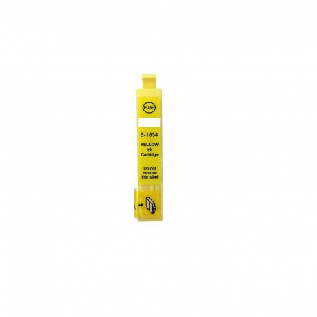 Tinta compatible Epson T1634, T1624 (16XL), color amarillo