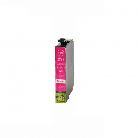 Tinta compatible Epson T2713, T2703 (27XL), color magenta