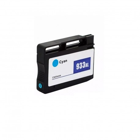 Cartucho de tinta compatible HP 933XL (CN054AE), color cyan