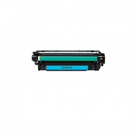 Tóner compatible HP CE401A (507A), color cyan
