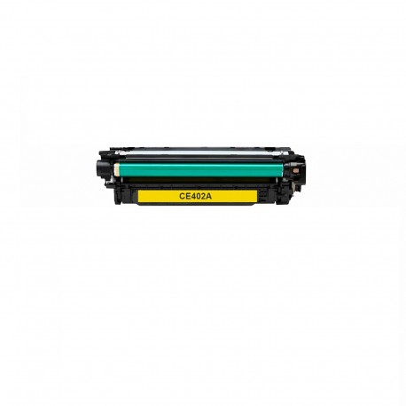 Tóner compatible HP CE402A (507A), color amarillo