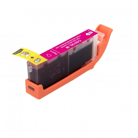 Cartucho de tinta compatible Canon CLI551XL, color magenta