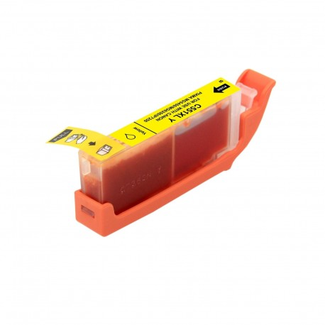 Cartucho de tinta compatible Canon CLI551XL, color amarillo