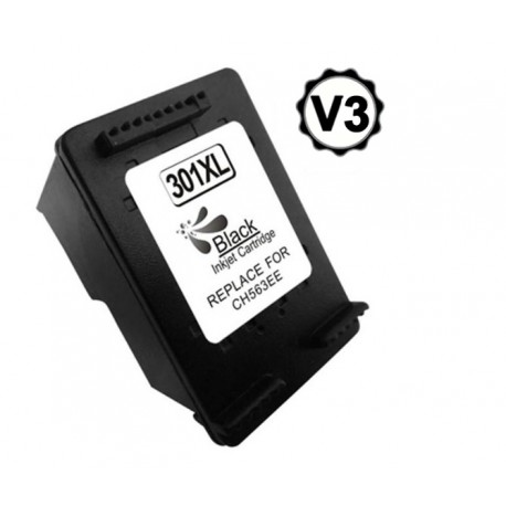 HP 301XL COMPATIBLE V3 NEGRO  CH561EE/CH563EE